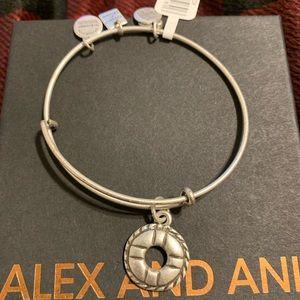 Alex and Ani Life Preserver Bracelet